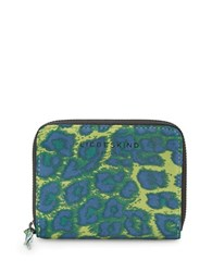 Liebeskind Conny F7 Leopard Printed Wallet Yellow