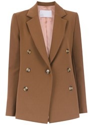 Spacenk Nk Buttoned Blazer Brown