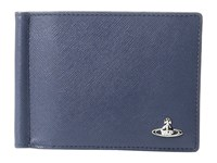 Vivienne Westwood Kent Wallet W Money Clip Blue Wallet Handbags