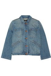J Brand Lacy Denim Jacket Light Denim