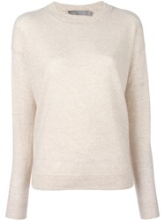 Vince Boxy Jumper Nude Neutrals
