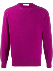 Cruciani Crew Neck Ribbed Knit Sweater 60