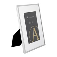 Amara Silver Plated Steel Photo Frame 4X6