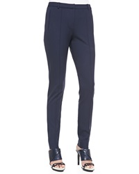 Jason Wu Structured Low Rise Stovepipe Pants Navy