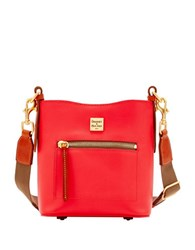 Dooney And Bourke Raleigh Small Roxy Leather Crossbody Geranium