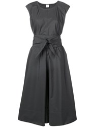 Aspesi Flared Midi Dress Grey