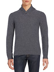 Saks Fifth Avenue Shawl Collar Cashmere Sweater Castle Rock
