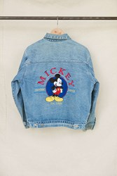 Urban Renewal Vintage Mickey Mouse Embroidered Denim Jacket Assorted
