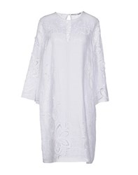 Ermanno Scervino Dresses Knee Length Dresses Women White