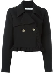 Vivetta 'Pesco' Cropped Jacket Black
