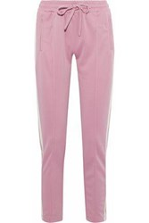 Love Stories Bailey Striped Jersey Track Pants Baby Pink