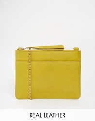 Oasis Stephanie Clutch With Detachable Across Body Strap Ochre Tan