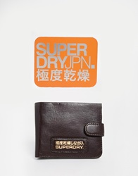 Superdry Wallet With Gift Tin Brown