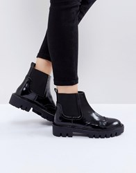Sixty Seven Sixtyseven Cleat Sole Chelsea Flat Boots Black Box