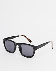 Asos Square Wayfarer Sunglasses Colour Block Arm Brown