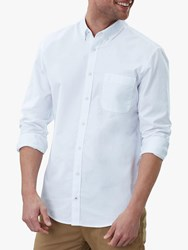 Joules Laundered Oxford Classic Fit Shirt White