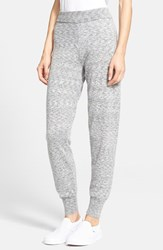 Women's Theory 'Hillard' Space Dye Cashmere Sweatpants Grey Multi
