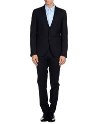 Grey Daniele Alessandrini Suits And Jackets Suits Men Black