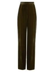 Sportmax Pianosa Trousers Dark Green
