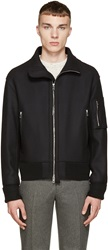 Rag And Bone Black Wool Beckett Jacket