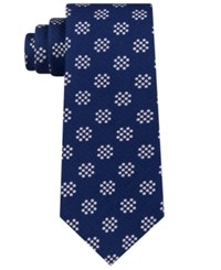 Sean John Sharp Dot Tie Deep Blue