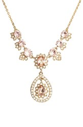 Marchesa Women's Sheer Bliss Y Necklace Vintage Rose Gold