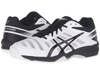 Asics Gel Solution Slam 3 White Black Silver Men's Tennis Shoes