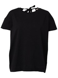 Marni Back Bow Detail Top Black