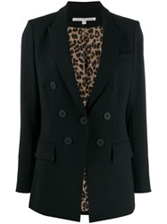 Veronica Beard Boxy Fit Blazer Black