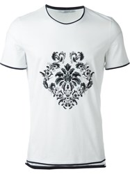 Ermanno Scervino Embroidered T Shirt White