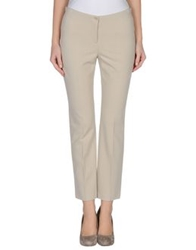 Marc Cain Casual Pants Light Grey