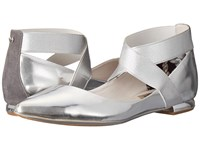 Ted Baker Cencae Silver Leather Women's Flat Shoes