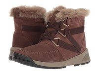 Columbia Maragal Mid Wp Tobacco Pebble Cold Weather Boots Brown