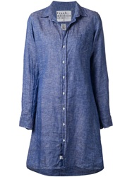 Frank And Eileen Denim Shirt Dress Blue