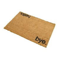 Artsy Doormats Hello Bye Door Mat