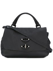 Zanellato Mini Studded Tote Black