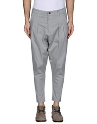 Minimal Casual Pants Grey