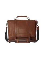 White Stuff Mikey Leather Satchel Tan