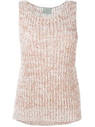 Forte Forte Knit Tank Top Nude And Neutrals