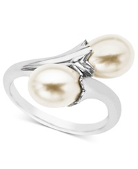Macy's Pearl Ring Sterling Silver Cultured Freshwater Pearl Wrap