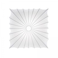Axo Light Muse Small Square Ceiling Silver White