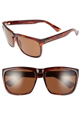 Electric Eyewear Women's Electric 'Knoxville Xl' 61Mm Polarized Sunglasses Tortoise Bronze Polar