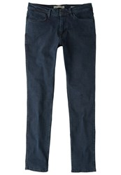 Mango Slim Fit Jeans Deep Dark Blue