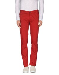 Macchia J Trousers Casual Trousers Men Red