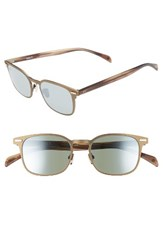 Salt Men's Clarence 51Mm Polarized Sunglasses Matte Antique Gold Taupe Matte Antique Gold Taupe
