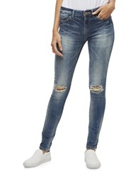 Noisy May Lucy Destructed Jeans Blue