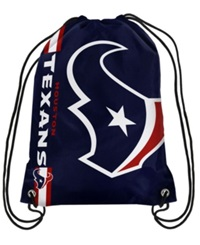 Forever Collectibles Houston Texans Big Logo Drawstring Bag Navy