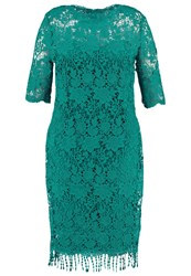 Paper Dolls Curvy Summer Dress Jade Green