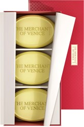 The Merchant Of Venice Set Assorted Oriental Bath Soaps 200G X 3