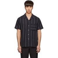 Paul Smith Ps By Black Stripe Casual Shirt